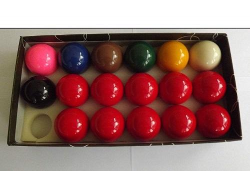 Juego de 17 bolas de Snooker