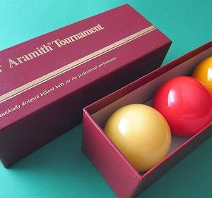Juego Bolas Billar Carambola Carom Super Aramith Tournament de Luxe Caja Roja