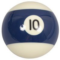 bola-de-billar-numero-10-azul-rayada