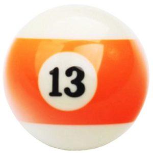 bola-de-billar-numero-13-naranja-rayada
