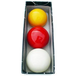 bolas de billar - Juego bolas carambolas tricolor